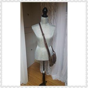 Tarnish Leather crossbody bag